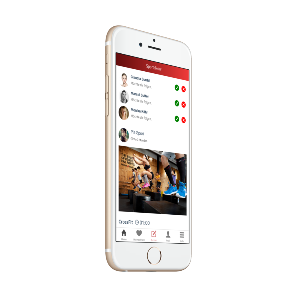 SportsNow-Soziales-Netzwerk-iOS