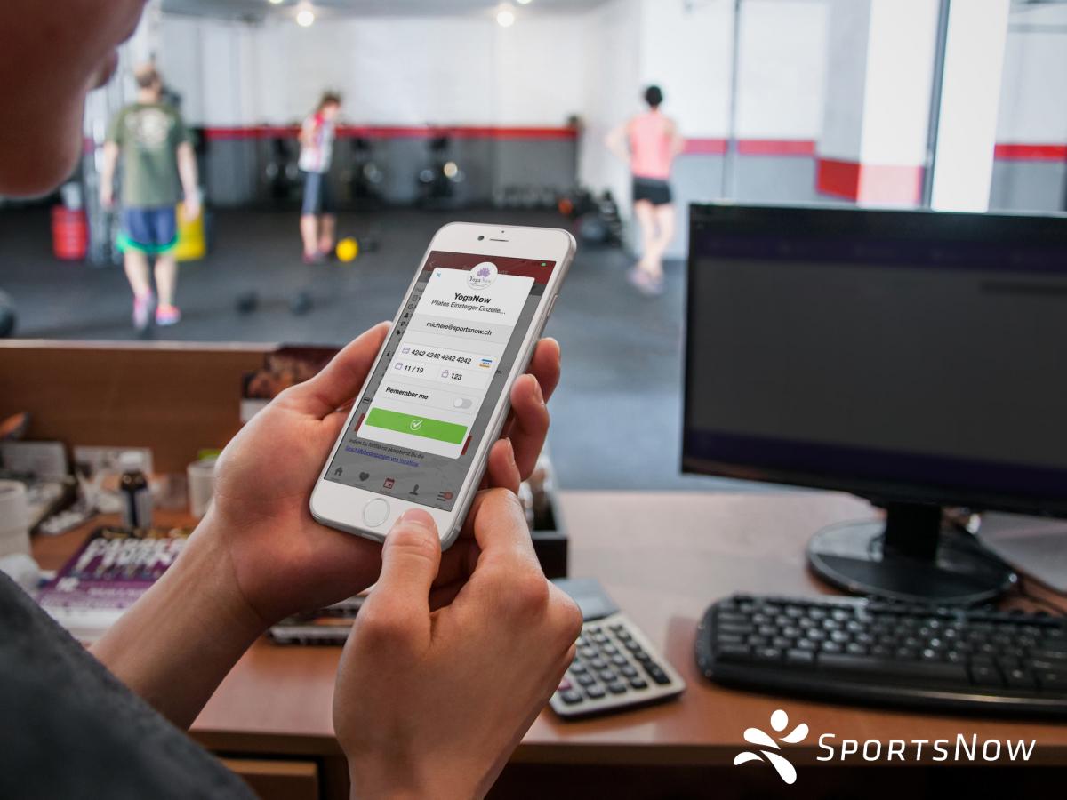 Neu: Kreditkartenzahlung für euer Fitnessstudio!