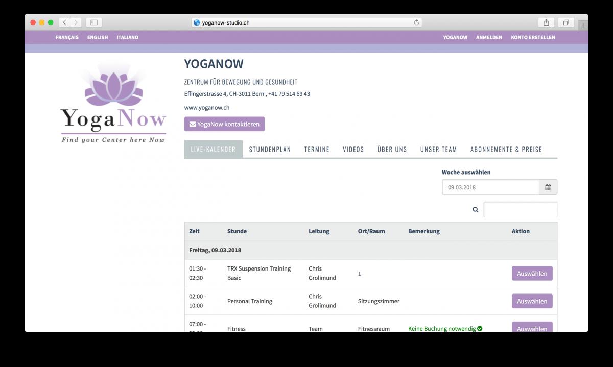 Neu: Gestalte deine SportsNow-Seite farblich selbst und integriere es vollständig mit deiner Website!