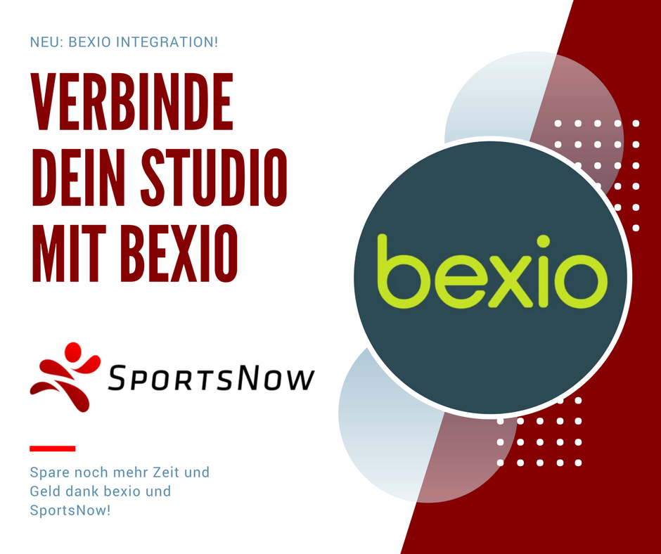 Neu: bexio-Integration! Spare noch mehr Zeit und Geld dank unserer neuen Zusammenarbeit 🤝